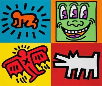 Keith Haring - Icon 5.